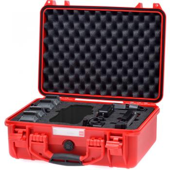 HPRC 2400 Hard Case for DJI Mavic Pro (Red) [Made in Italy]